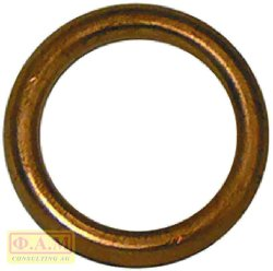 COPPER GASKET 14x20x2 mm STUFFING GLAND  PRI524000001