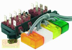 4-BUTTON SWITCH BLOCK  227003
